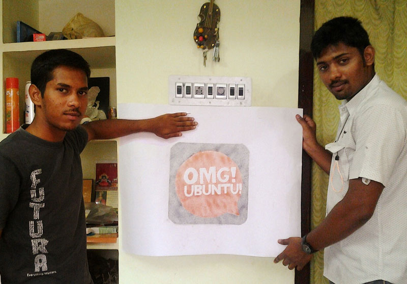 puducherry-linux-group with OMG! Logo