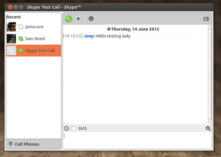 Skype For Linux - фото 6