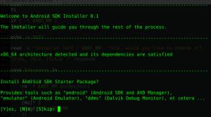 Starter Package Install