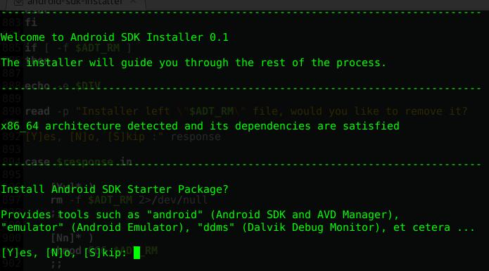Android Sdk Installer For Linux Debian Ubuntu Omg Ubuntu