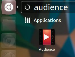 Audience elementary app launcher