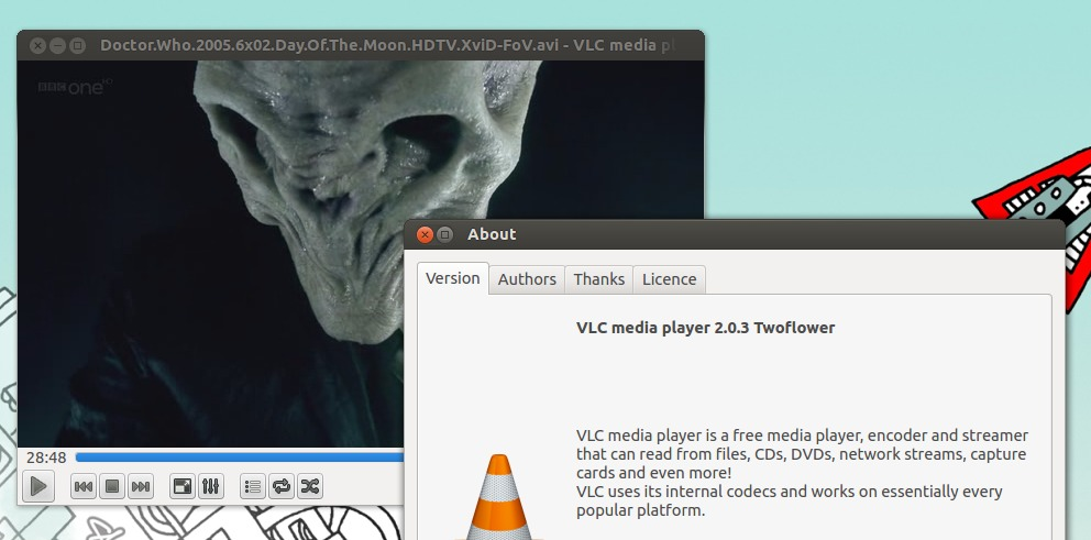 vlc 2.0.3 in Ubuntu 12.04