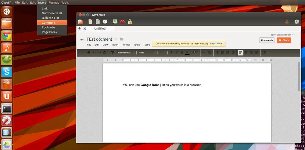 Bring Google Docs To The Ubuntu Desktop With GWOffice OMG Ubuntu - When was google docs created