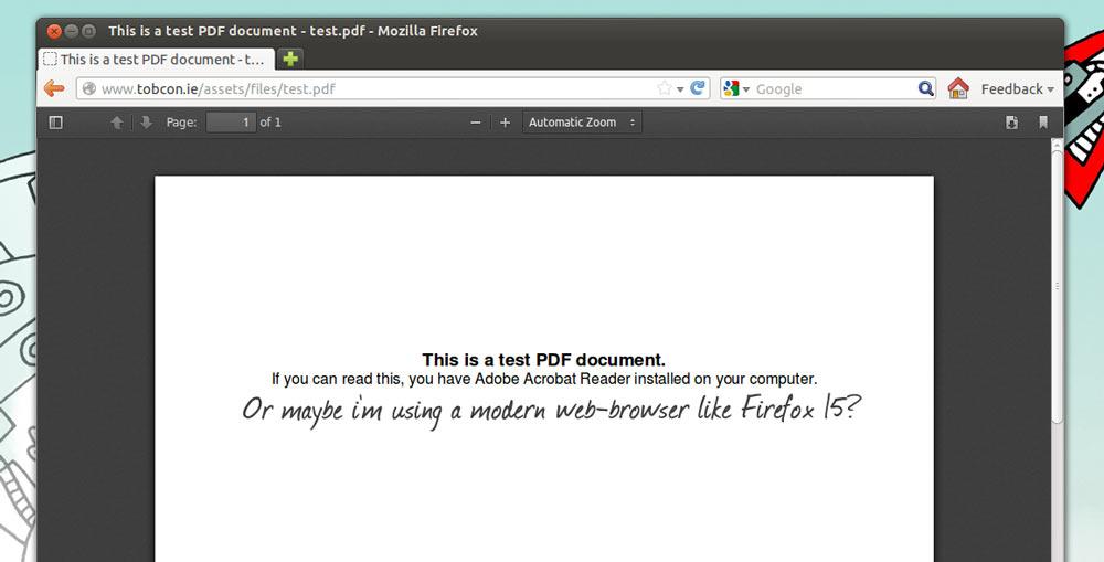 PDF VIEWER UBUNTU SERVER DOWNLOAD