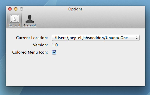 Ubuntu One Client for Mac