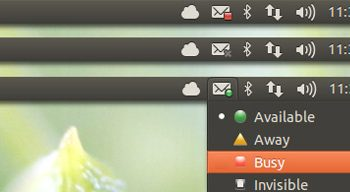 new status icons in ubuntu 12.10