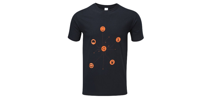 Ubuntu icons T-shirt design