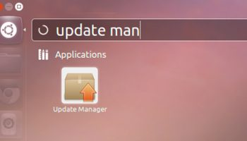 update manager in Ubuntu