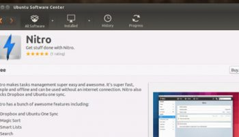 To Do App 'Nitro' Hits Ubuntu Software Center