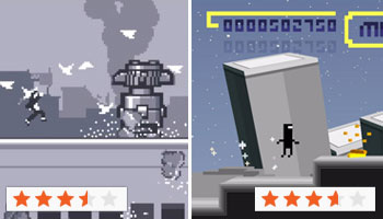 Sidescroller Run Off: Bit.Trip Runner Vs Canabalt [Review]