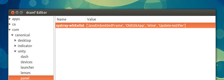 Whitelisting Apps in Ubuntu 12.10