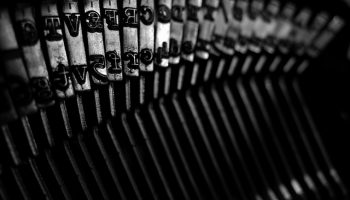 Brother typewriter by awdean1
