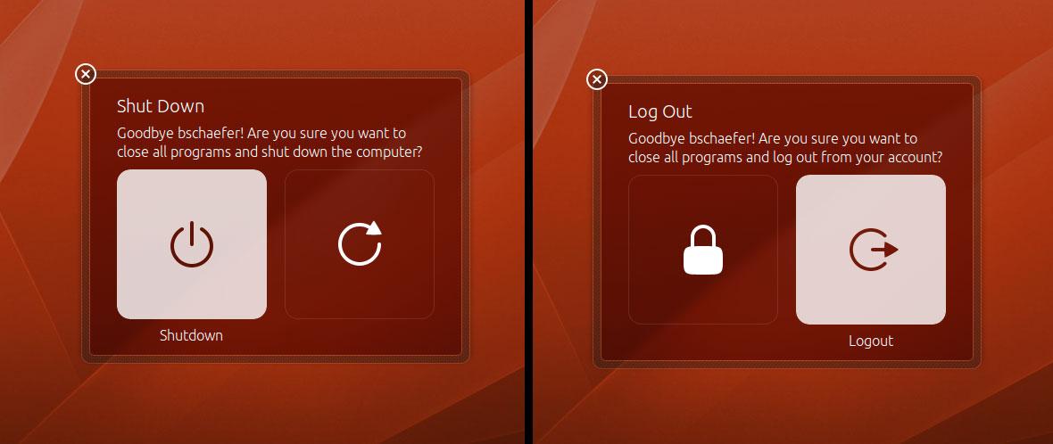 New Unity Styled Shutdown Dialogs Heading To Ubuntu 13 04