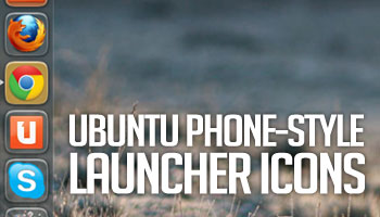Ubuntu Touch-Style Launcher Icons for the Ubuntu Desktop