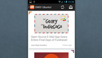 Sliding Menu, Larger Thumbnails & More Added to OMG! Ubuntu! Android App