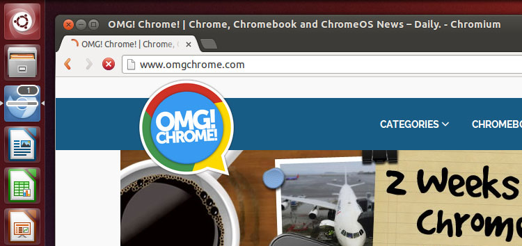 Chromium running on Ubuntu 13.04