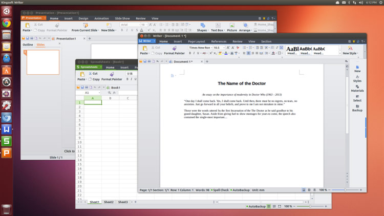 kingsoft wps office