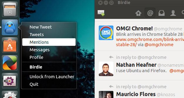 Birdie Quicklist in 13.04