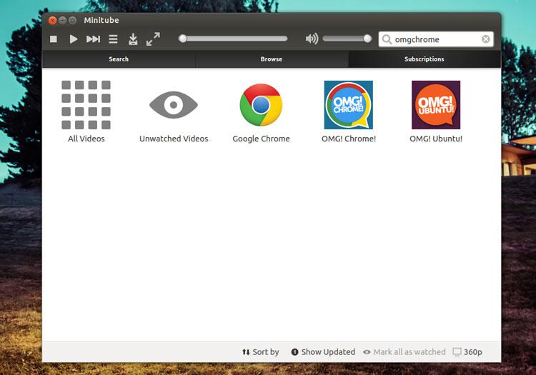 Ubuntu с youtube