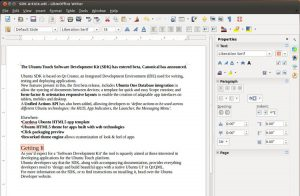 LibreOffice 4.1 Adds Experimental Sidebar