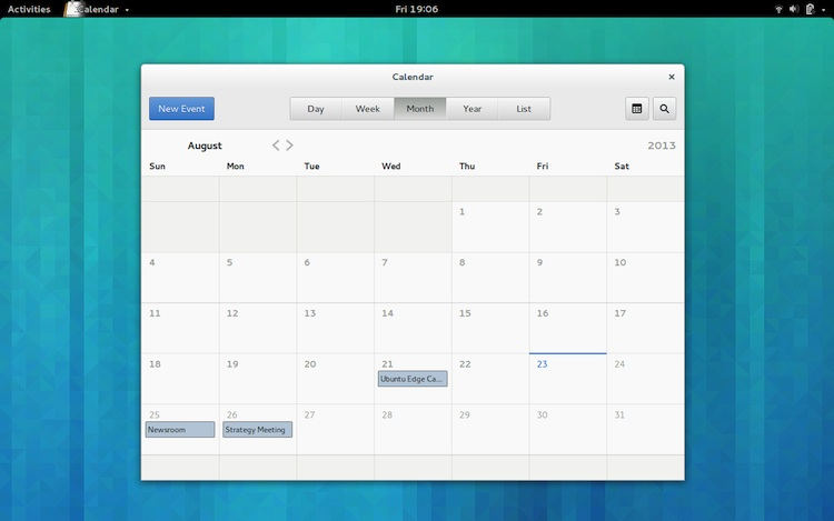 5 gnome core apps  calendar  music  maps  u0026 more