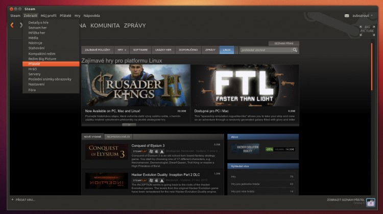Steam Ambiance Skin for Ubuntu