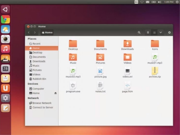 ubuntu 14.04 icon theme