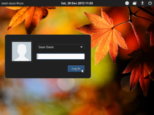 lightdm-gtk-greeter can be customised