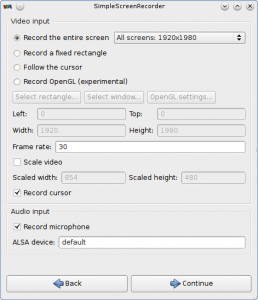 Simple Screen Recorder