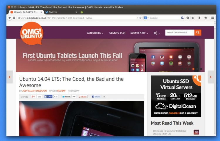 Firefox 29's New Look