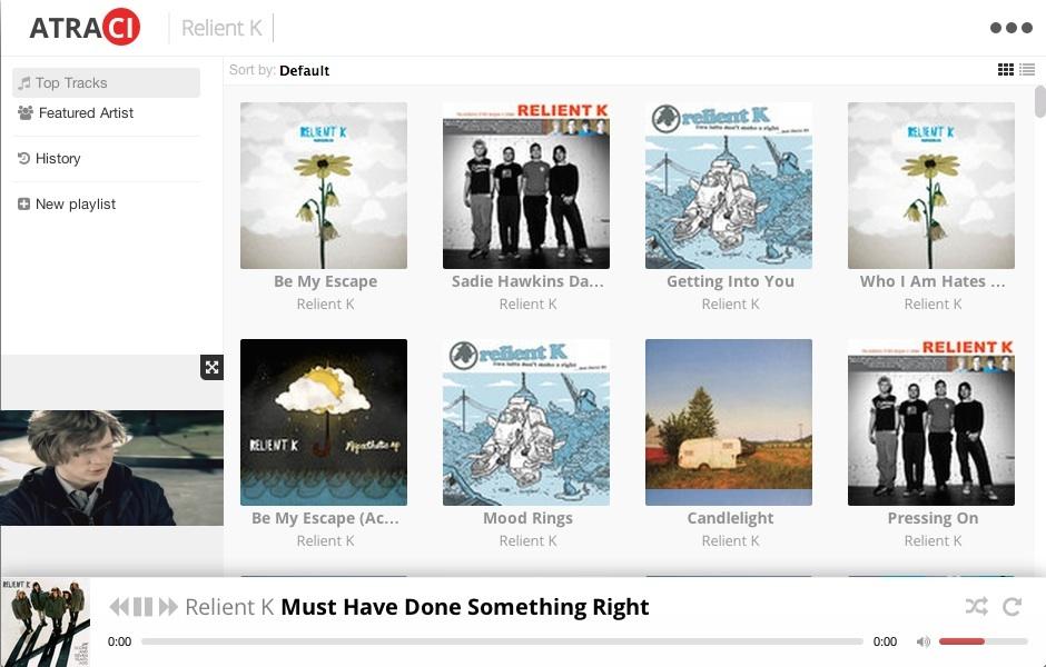 Atraci Is a Cross-Platform Desktop YouTube Music Player