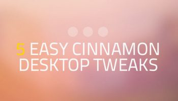 cinnamon desktop tweaks