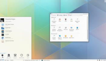 KDE Plasma 5 desktop