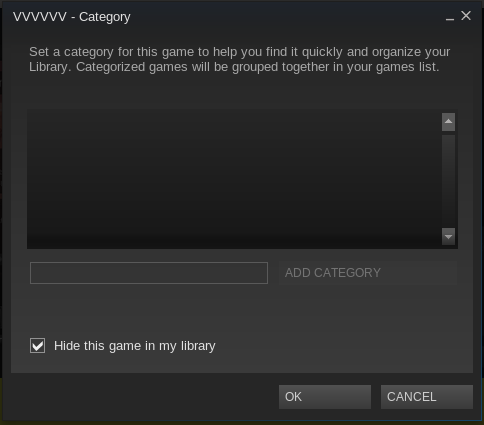steam linux dialog