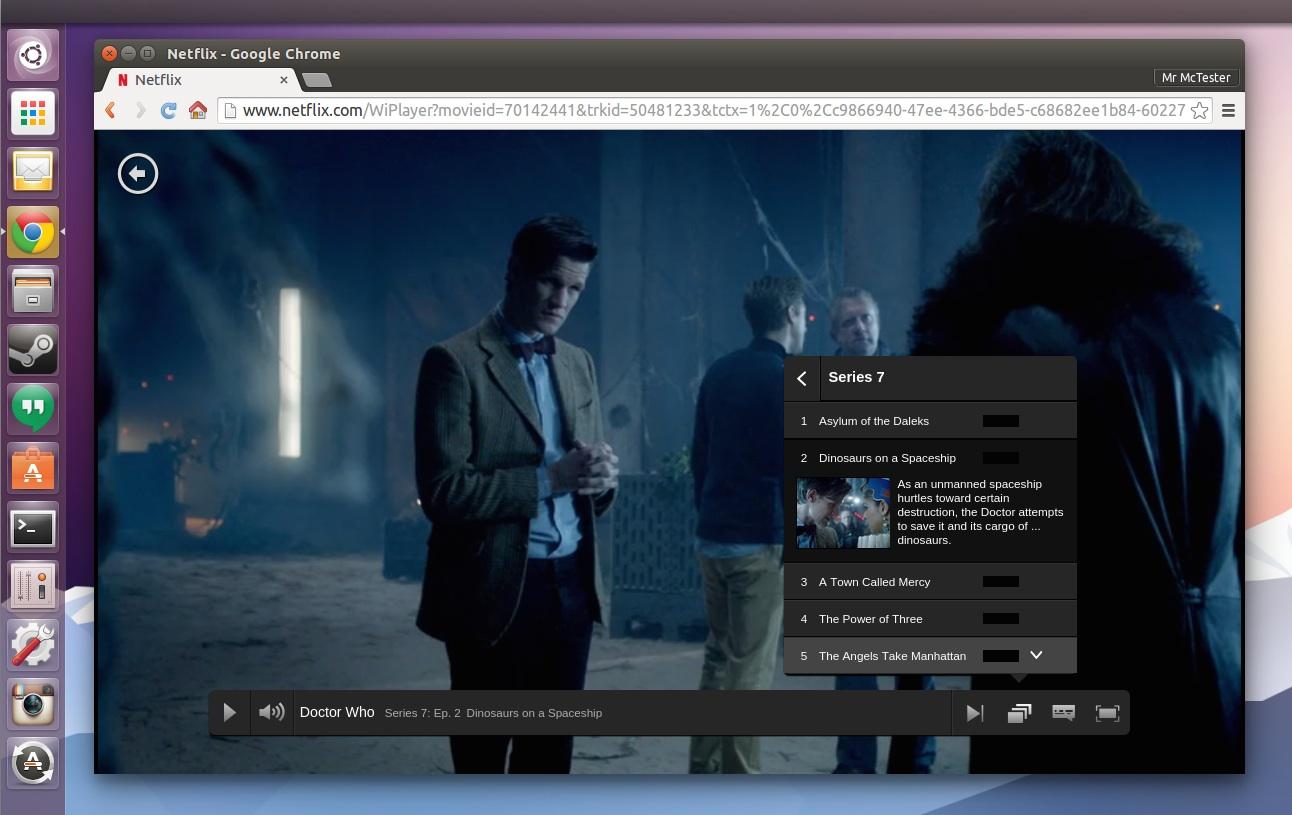 Google theme ubuntu - Netflix Running In Google Chrome On Linux