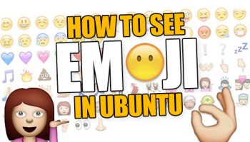 how to see emoji in ubuntu