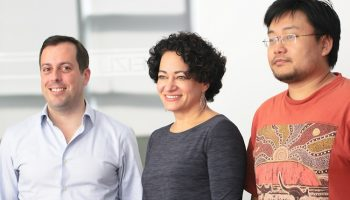 Canonical CEO Jane Silber (middle)