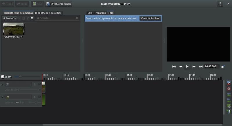 Pitivi Video Editor Now Uses Space-Saving GTK HeaderBar