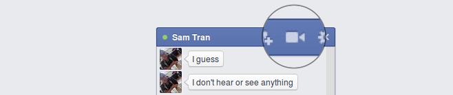 conversation webcam facebook