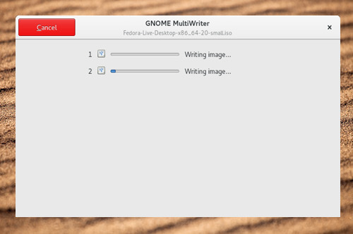 gnome multi writer