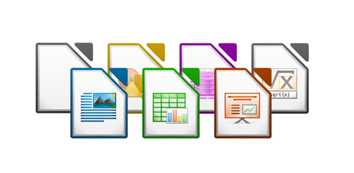 libreoffice app icons