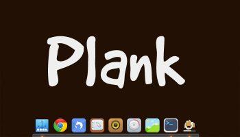 plank desktop dock