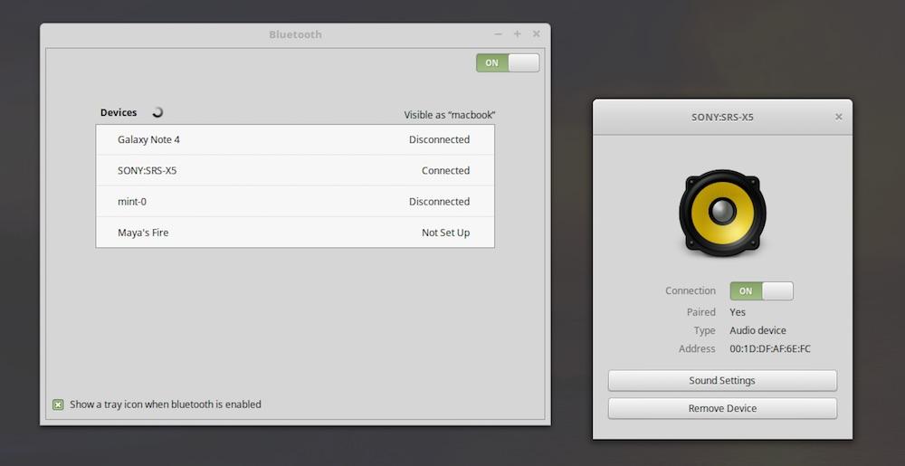 Meet Blueberry, Linux Mint's New Bluetooth Setup Tool - OMG! Ubuntu!