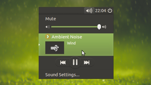 Ambient Noise Player for Ubuntu Plays Relaxing Sounds to Keep You