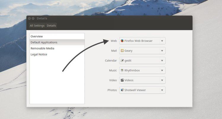 using system settings in ubuntu