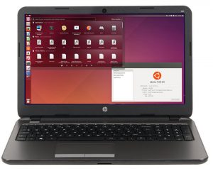 HP 255 G3 Laptop with Ubuntu