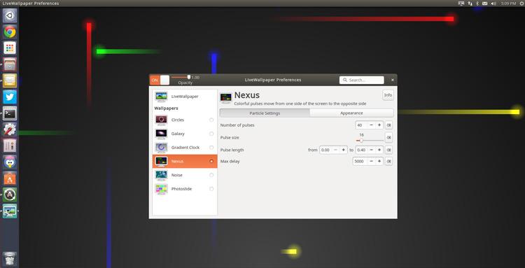 bewegender desktop hintergrund windows 10