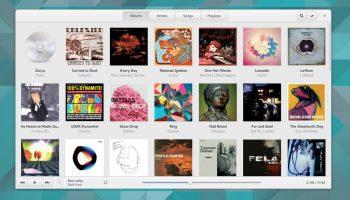 GNOME Music Screenshot