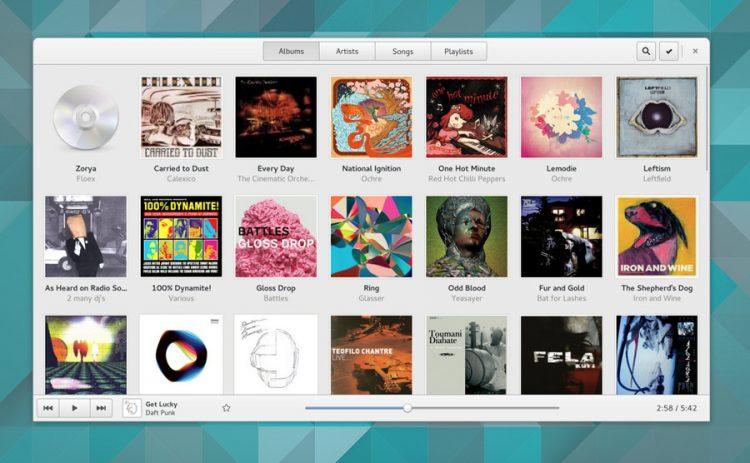 gnome-music-app
