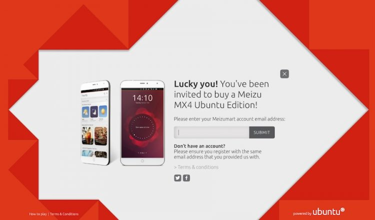 ubuntu mx4 invite